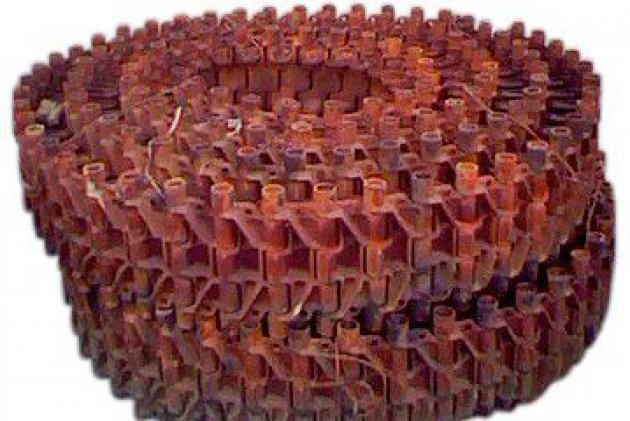 Гусеница РМШ короткая (216 звеньев) (8.34.001)