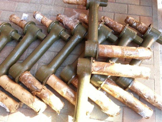 Фото: Рычаг катка в сборе (балансир) (21.32.021)