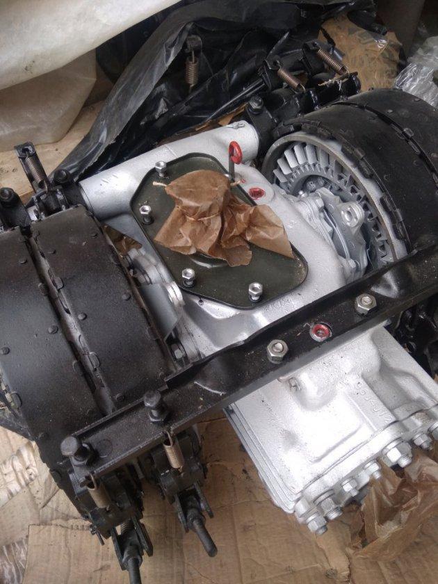 Фото: ГП, бортовые фрикционы и тормоза в сб, узкая лента (34036-2600010-50)