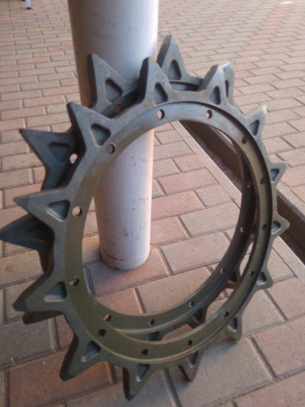 Фото: Венец ведущего колеса РМШ 73-3202012-10