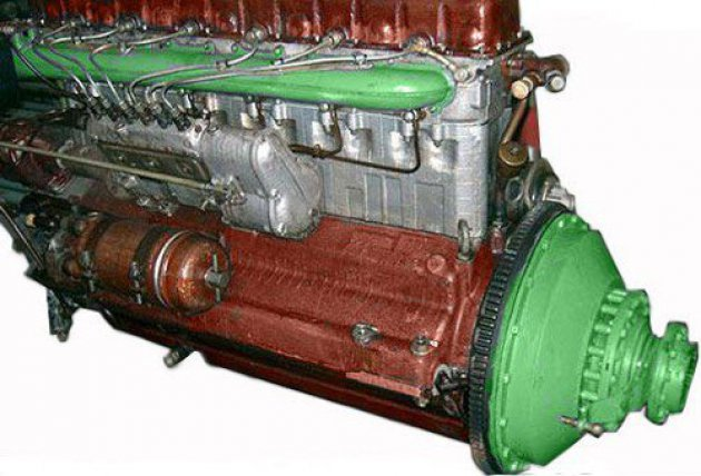 Фото: Двигатель в сборе (В6А) (21.01.010)